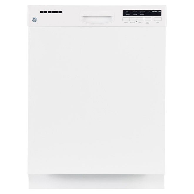 """24"""" Built-in Steel Tall Tub Dishwasher - White"""