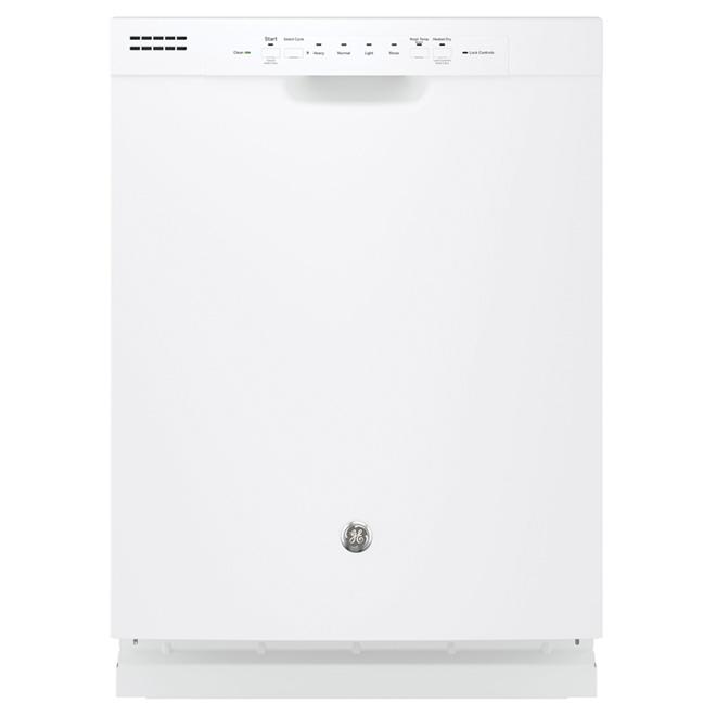 "24"" Built-in PermaTuf Tall Tub Dishwasher - White"