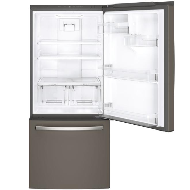 """Réfrigérateur congélateur inférieur 30"""", 20,9 pi³ ardoise"""