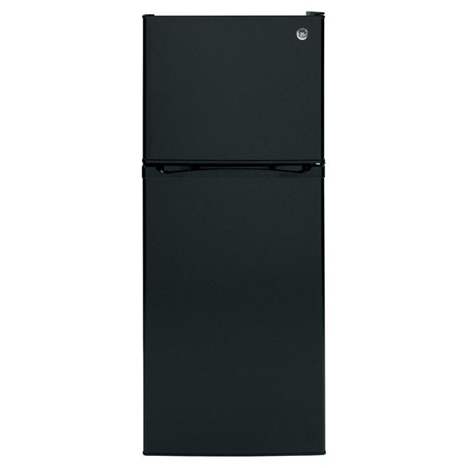 """Réfrigérateur congélateur supérieur 24"""", 11,6 pi³, noir"""