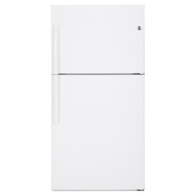 Ge Top-Freezer Refrigerator 33 - 21.2 cu. ft. - White GTE21GTHWW