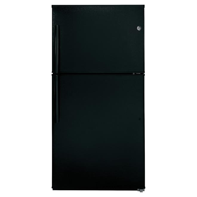 "Top-Freezer Refrigerator 33"" - 21.2 cu. ft. - Black"