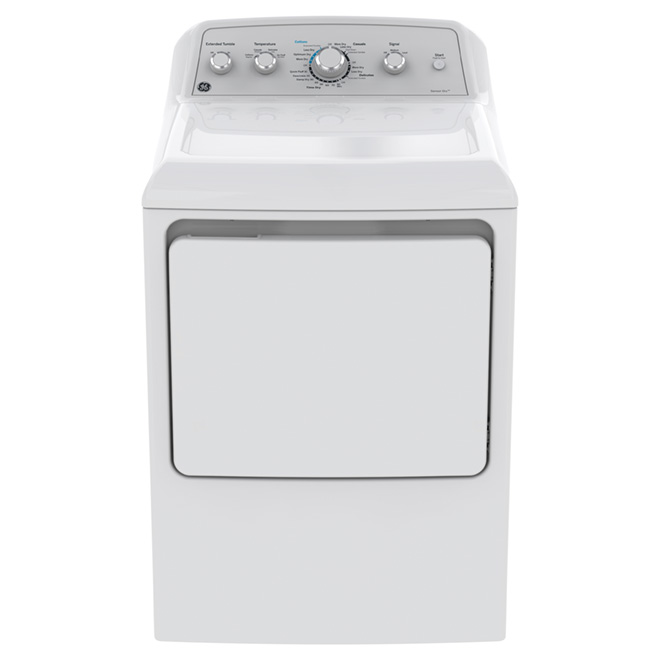 "Electric Dryer with HE Sensor Dry - 27"" - 7.2 cu. ft. - White"