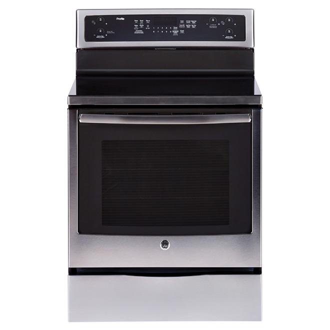 Ge Electric Convection Range - 6.2 cu. ft. - Stainless Steel PCB915SKSS