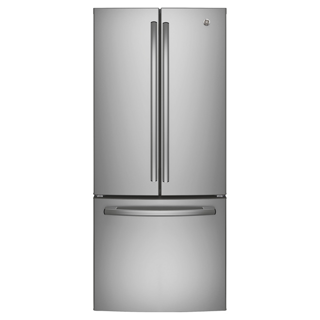 """French-Door Refrigerator 30"""" - 20.8 cu. ft. -Stainless Steel"""
