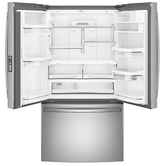 """French-Door Refrigerator -36"""" -23.1 cu. ft. -Stainless Steel"""