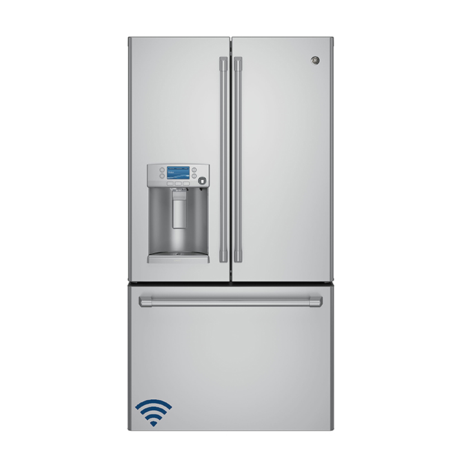 "French-Door Refrigerator - 36"" - 22.2 cu. ft. - SS"