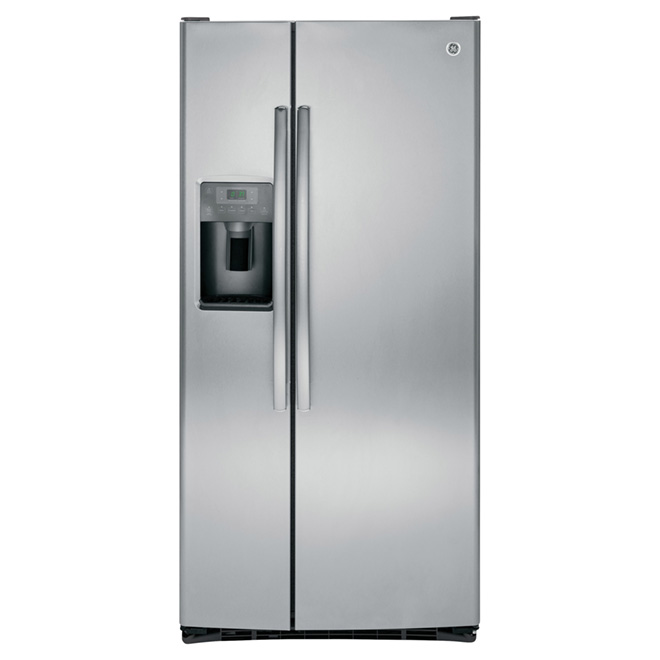 "Side-by-Side Refrigerator - 32 3/4"" - 23 cu. ft. - Stainless"