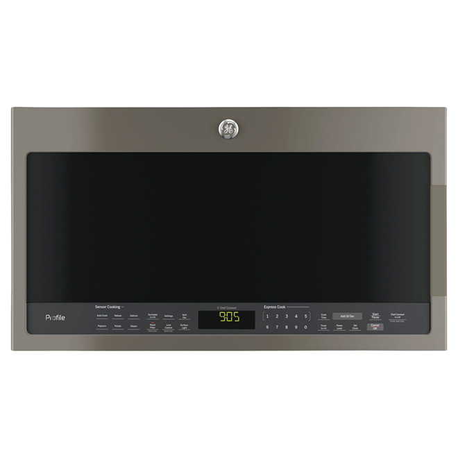Microwave Oven with Chef Connect - 2.1 cu. ft. - Slate