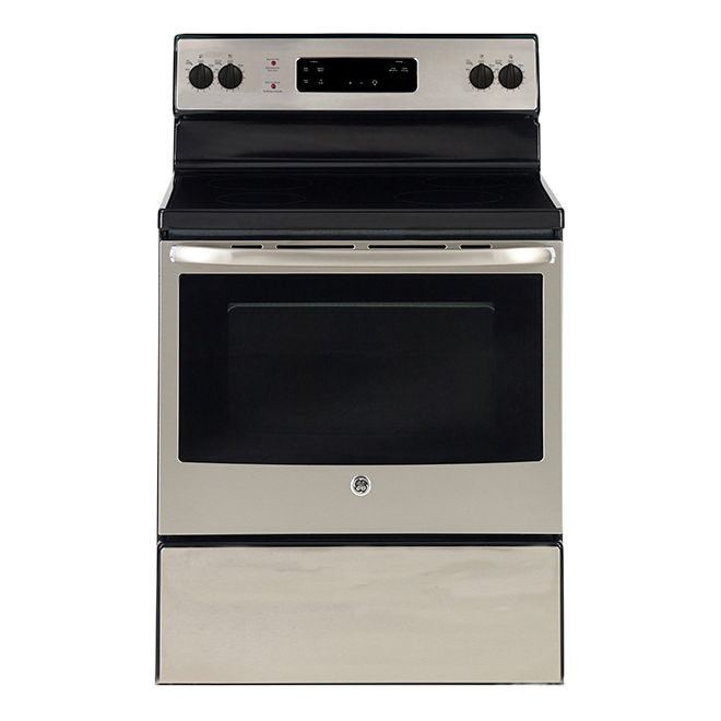 "Freestanding Electric Range - 5 cu.ft. - 30"" - Stainless Steel"