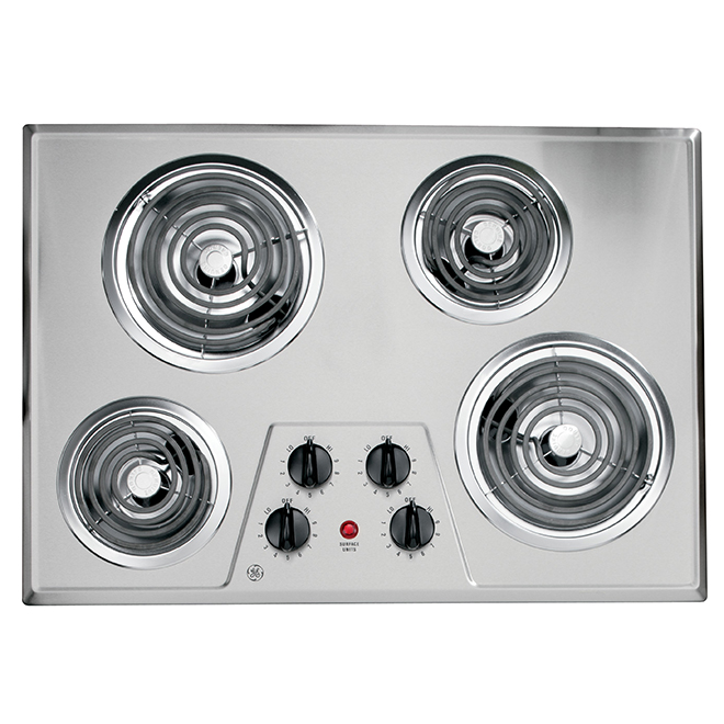 Ge Built-In Cooktop - Coil Elements - 30 - Stainless Steel JP328SKSS