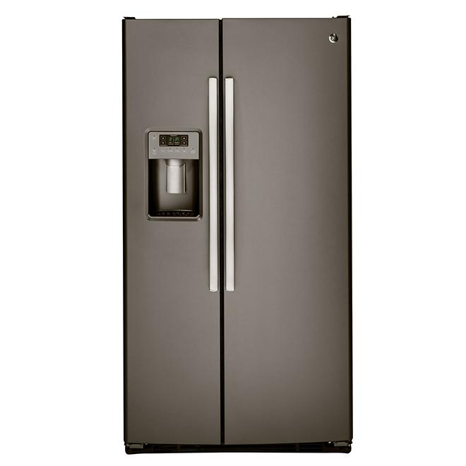 Side-by-Side Refrigerator- 25.4 cu. ft. - Slate