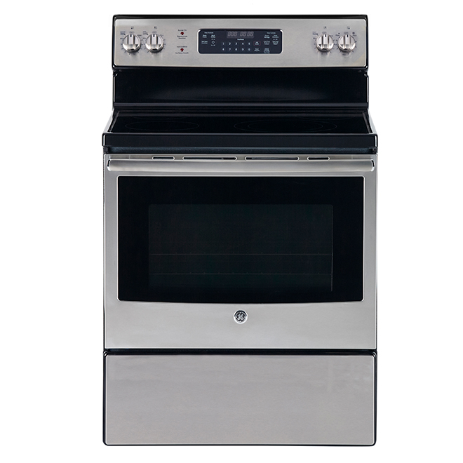 "Self-Cleaning Range with 5 Elements -5 cu. ft. -30"" -Stainless"