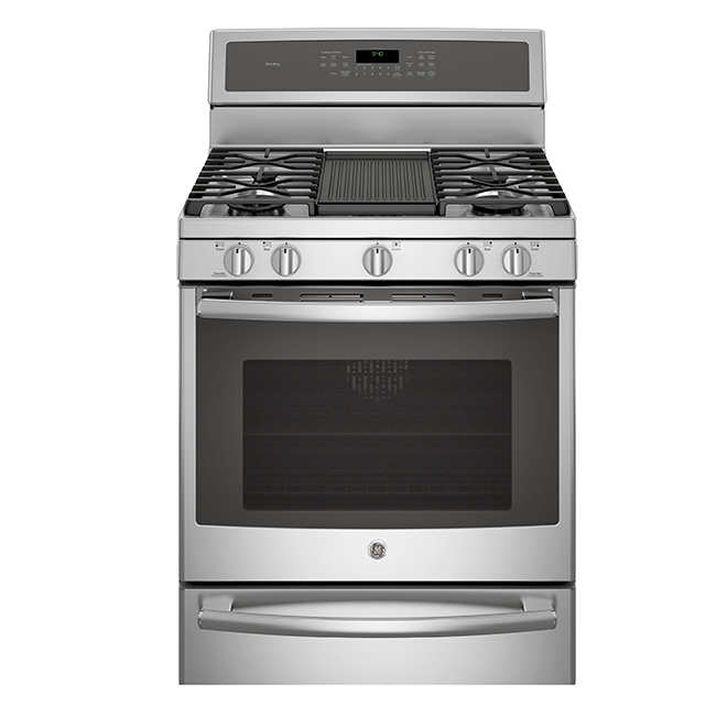 Gas Range with Warming Drawer - 5.6 cu. ft. - Stainless Steel