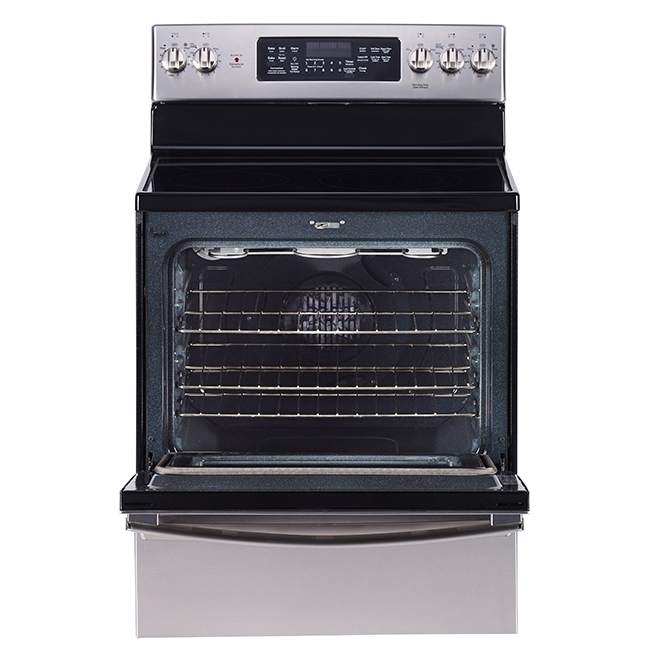 "Convection Range - 5 cu. ft. - 30"" - Stainless Steel"