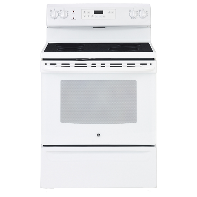 Free-Standing Electric Range - 5.0 cu. ft - White