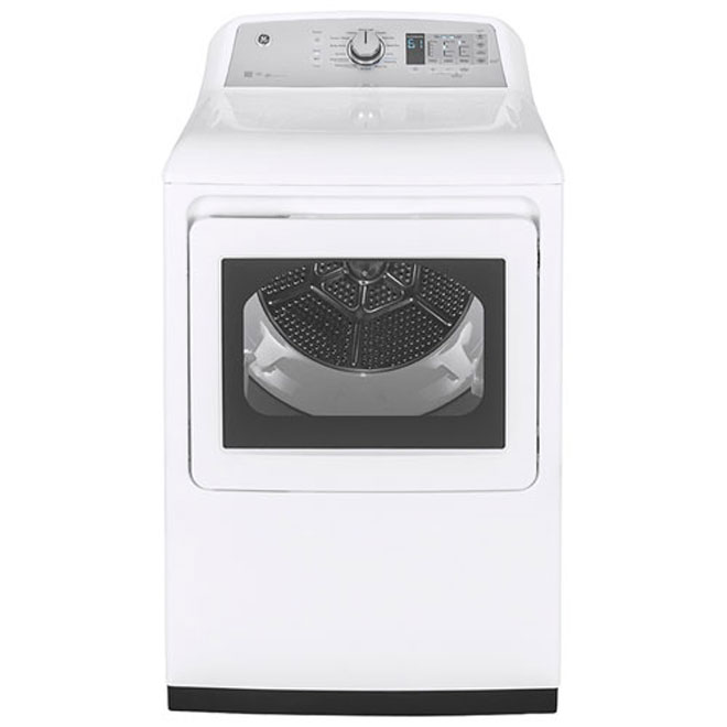 Electric Dryer with WiFi - 7.4 cu. ft. - White