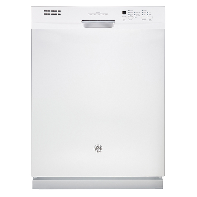 "Slide-In Dishwasher with CleanSensor - 24"" - White"