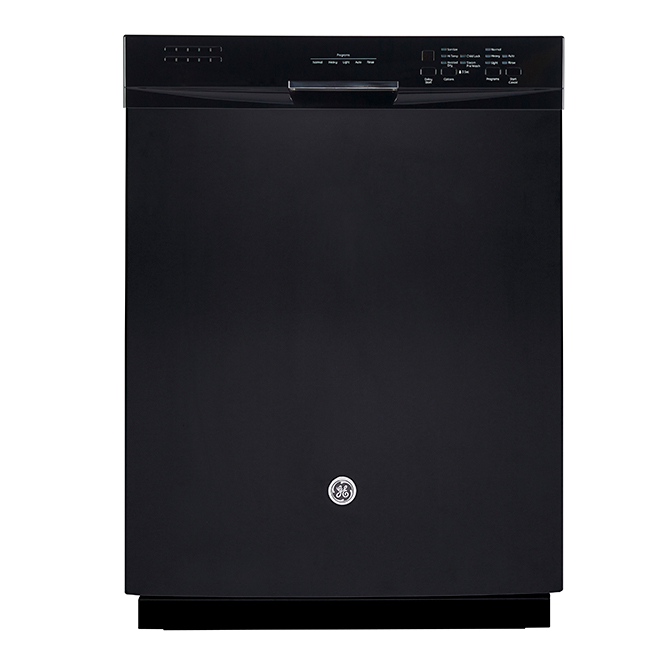 "Slide-In Dishwasher with CleanSensor - 24"" - Black"