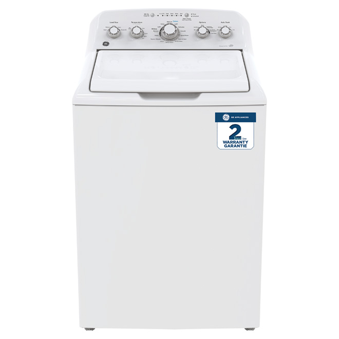 Top-Load Washer - 4.9 cu. ft. - White