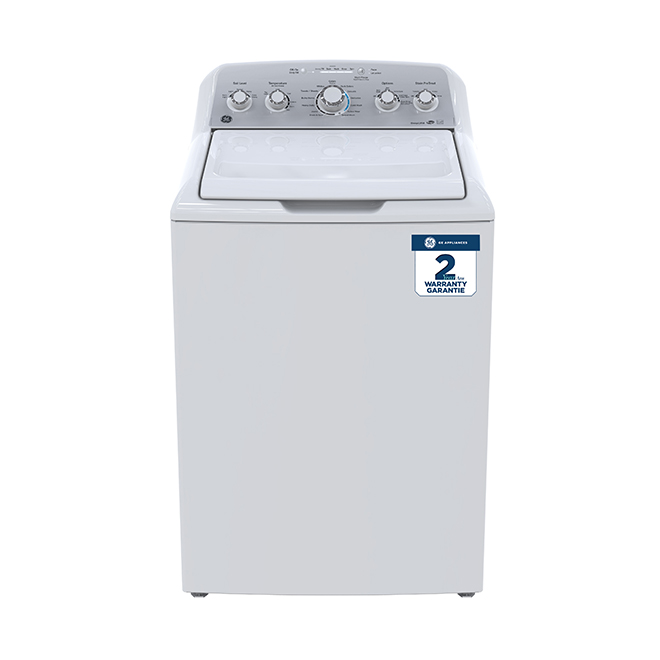 Designer Top-Load Washer  - 4.9 cu. ft. - White