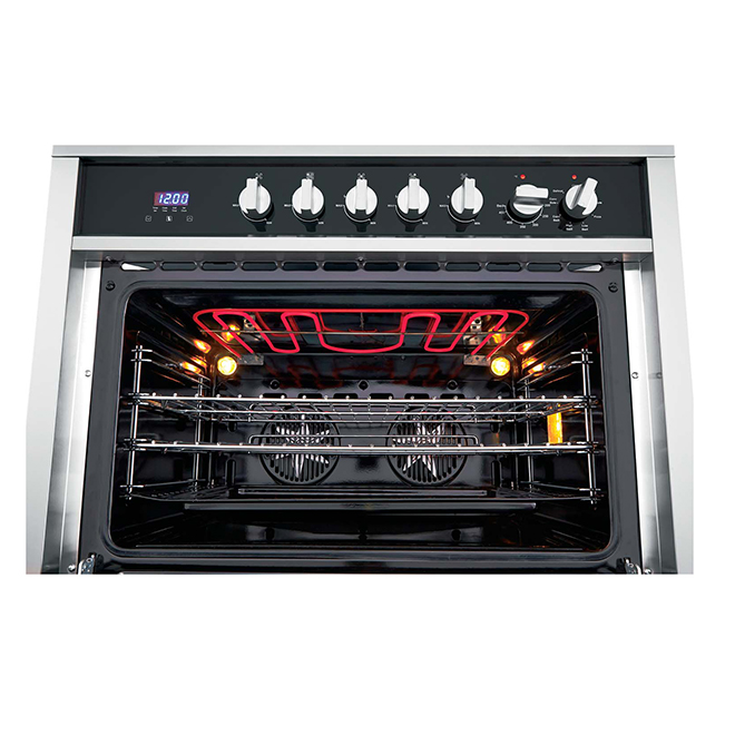 "Free-Standing Gas Range - 36"" - 3.8 cu. ft - Stainless Steel"