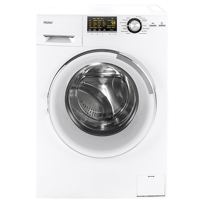 "2-in-1 Washer-Dryer Set - 24"" - 2 cu. ft. - White"