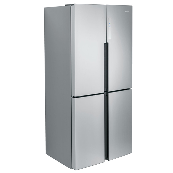 Quad-Door Refrigerator - 16.4 cu. ft. - Stainless Steel