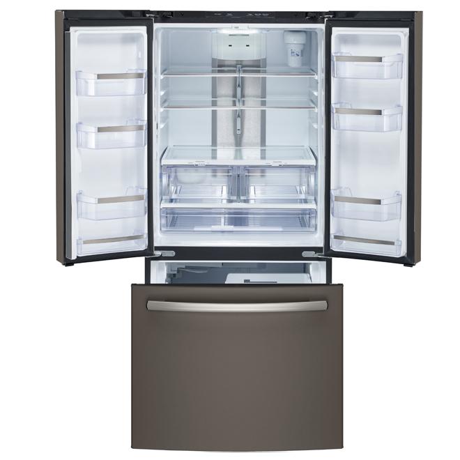 French-Door Refrigerator - 24.8 cu. ft. - Slate