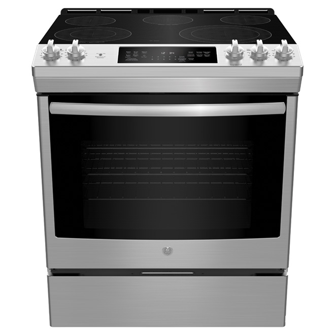 Slide-In Electric Convection Range - 5.3 cu. ft. - Stainless