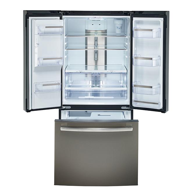 French-Door Refrigerator - 17.5cu.ft. - Slate