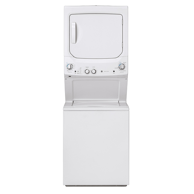 "Electric Laundry Center - 2.6 and 4.4 cu. ft. - 24"" - White"