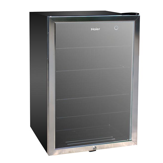 Réfrigérateur compact en inox