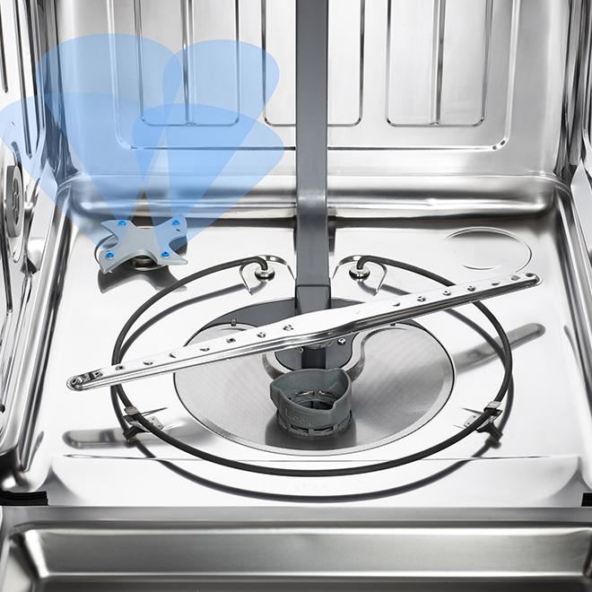 """Built-In Dishwasher with InfiniClean(TM) - 24"""" - Stainless Steel"""