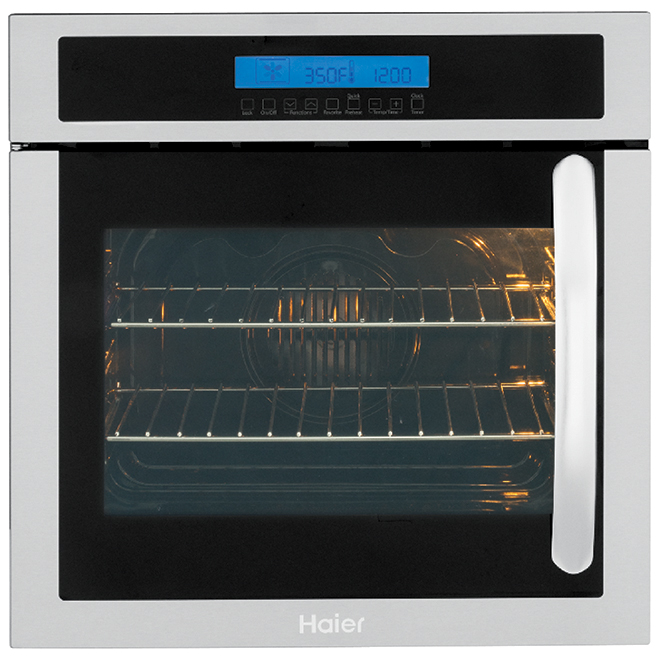 "24"" Convection Wall Oven - Left Hinge - 2.0 cu. ft. - SS"