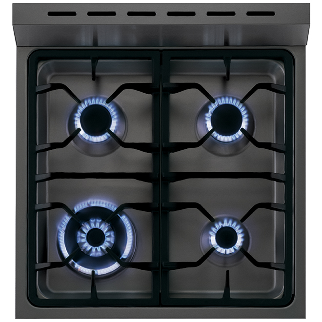 "24"" Dual-Fuel Convection Range - 2.0 cu. ft. - Stainless Steel"