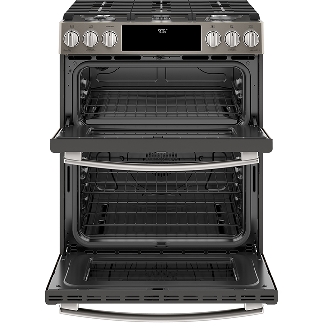 Slide-In Gas Range with Chef Connect - 6.7 cu. ft. - Slate
