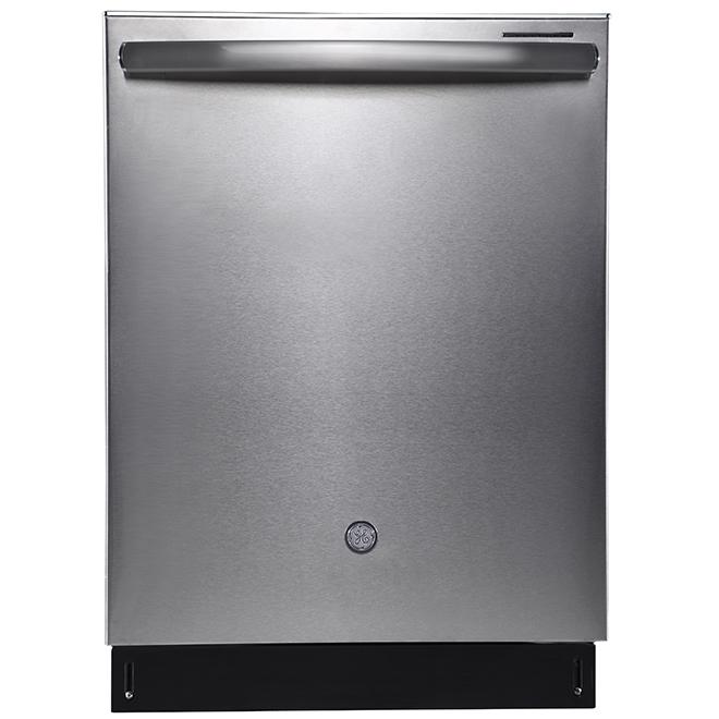"""Lave-vaisselle encastré GE Profile, 24"""", acier inoxydable"""