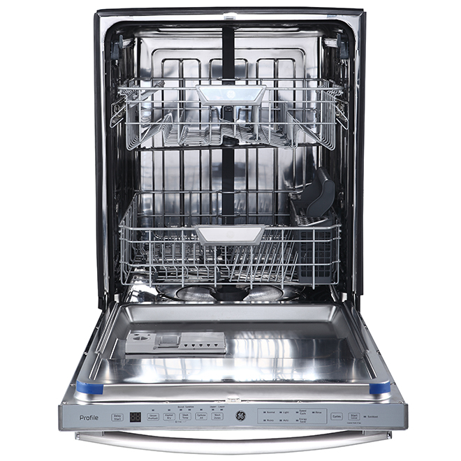 """GE Profile Built-In Dishwasher - 24"""" - Stainless Steel"""