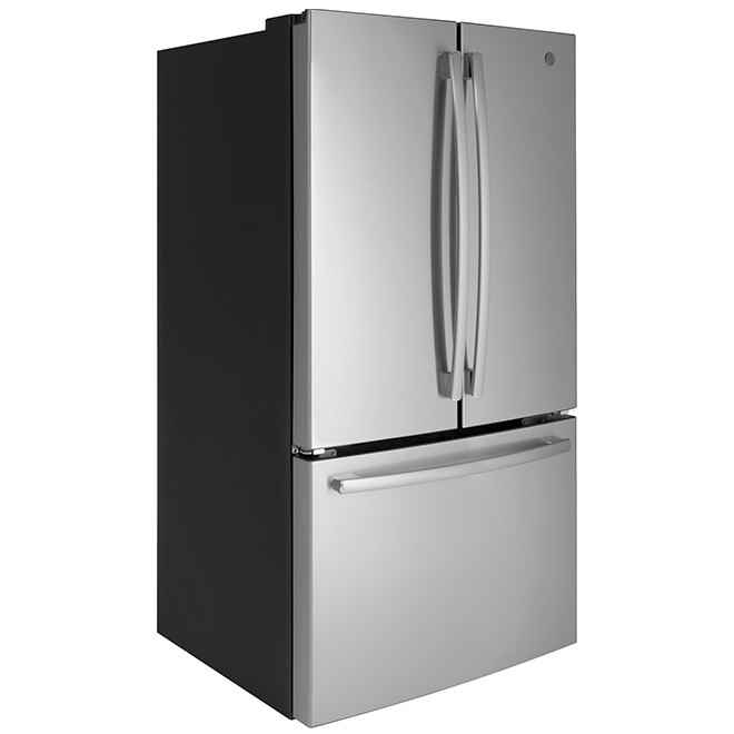"French-Door Refrigerator - 36"" - 26.7 cu. ft. - Steel"