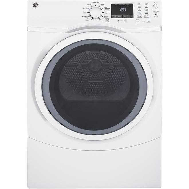 """Sécheuse électrique avec vapeur, 27"""", 7,5 pi³, blanc"""