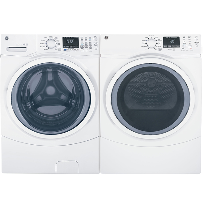 """Front-Load Washer - 27"""" - 5.2 cu. ft. - White"""