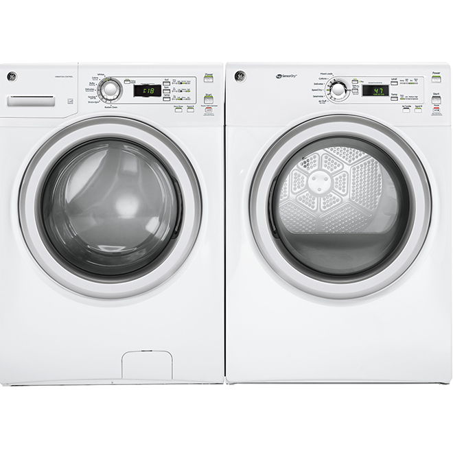 """27"""" Electric Dryer - 7 cu. ft. - White"""