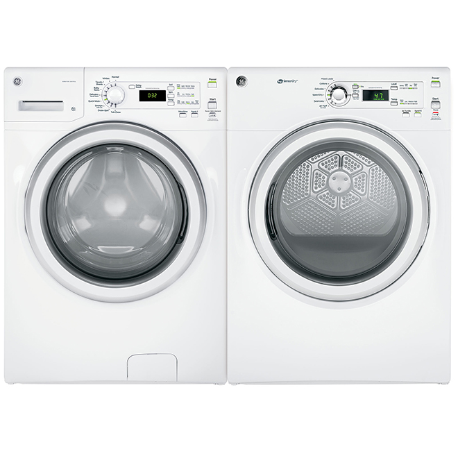 """Front-Load Washer - 27"""" - 4.8 cu. ft. - White"""