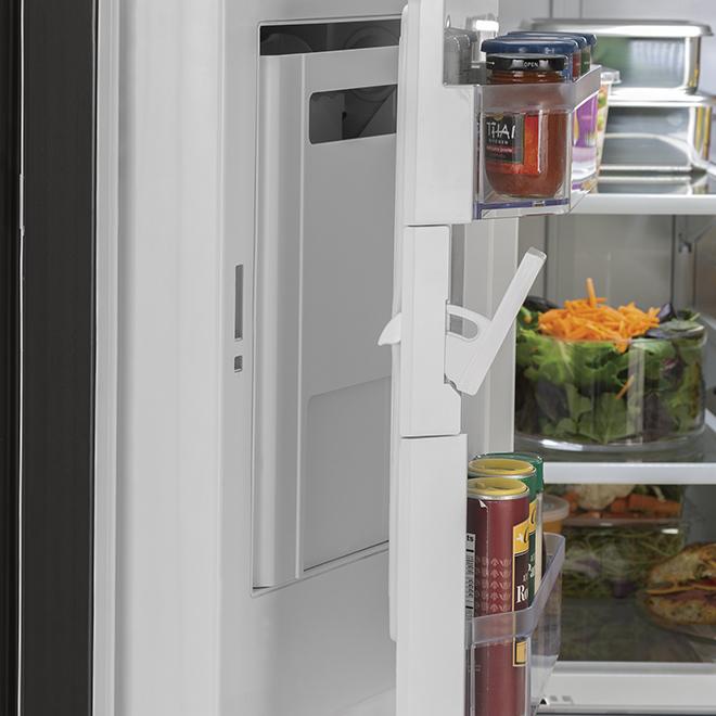 """French Door Refrigerator - 36"""" - 26.7 cu. ft. - Black"""