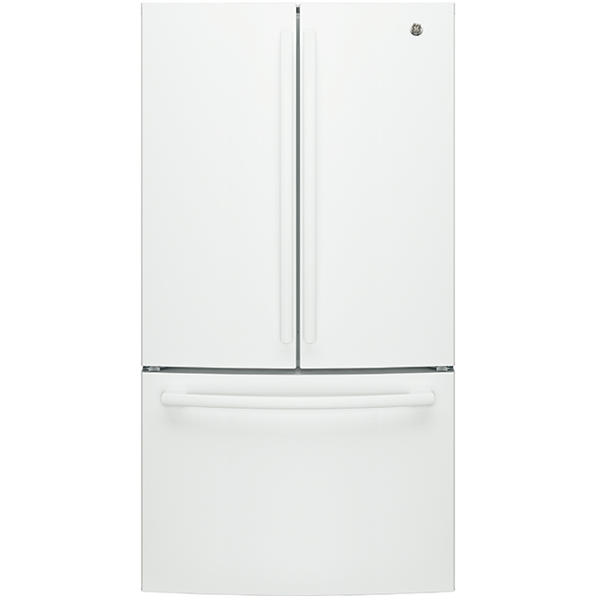 "French Door Refrigerator - 36"" - 26.7 cu. ft. - White"