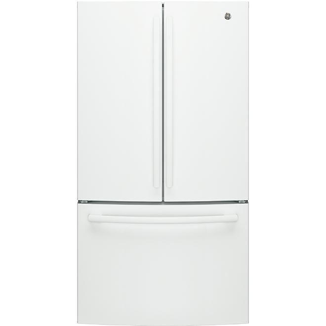 """Réfrigérateur à portes françaises, 36"""", 26,7 pi³, blanc"""