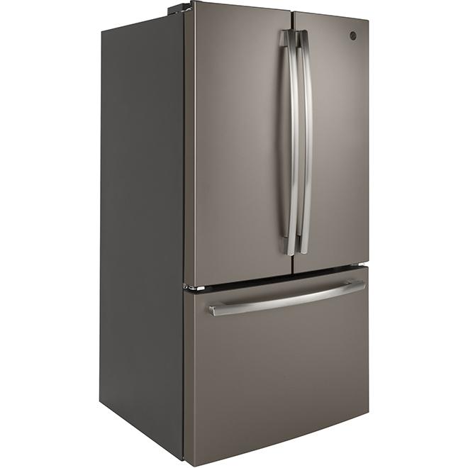 "French Door Refrigerator - 36"" - 26.7 cu. ft. - Slate"
