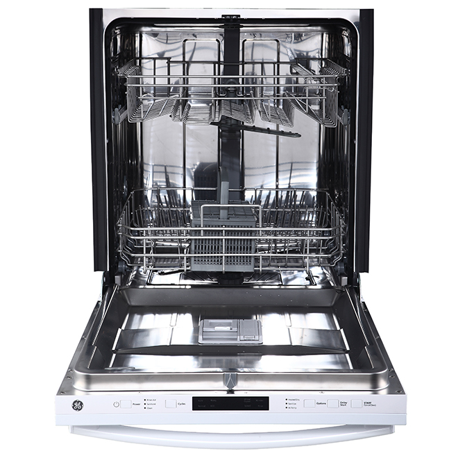 """Built-In Dishwasher with Clean Sensor - 24"""" - White"""