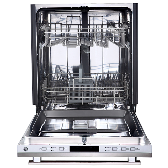 "Built-In Dishwasher with SpeedWash - 24"" - Stainless Steel"
